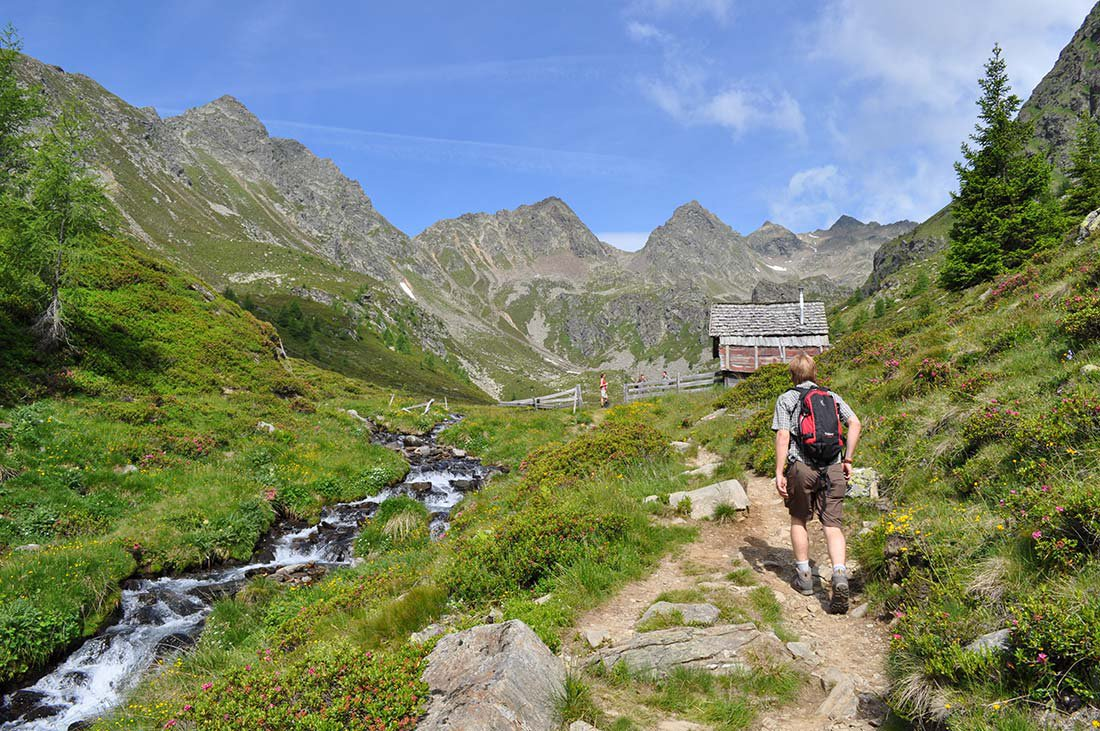 Our little mountain hut in Val Pusteria