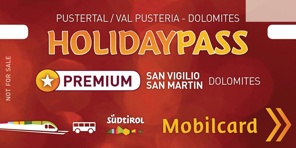 Holiday Pass – la vostra carta vantaggi in Alto Adige