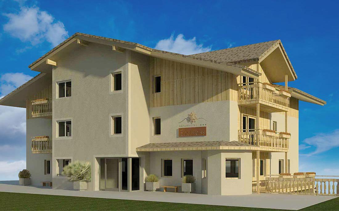 The new Nature Hotel Edelweiss